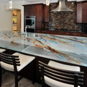 ThinkGlass Countertop photographed by John Stillman