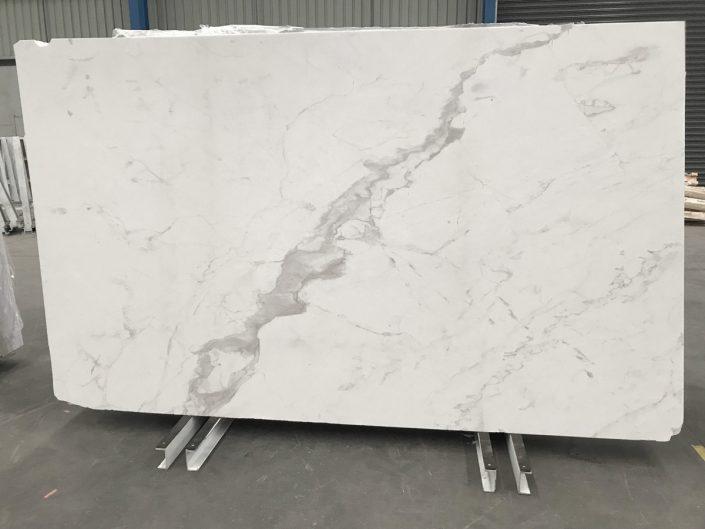 Slab of White Greek marble