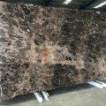 Emperador Brown marble slab